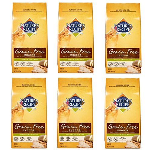 Nature's Recipe Grain Free Chicken and Potato Cat Food 5-Pound (6 pack) by Nature's Recipe