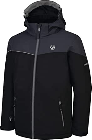 Dare 2b Oath Waterproof And Breathable High Loft Insulated Ski And Snowboard Jacket With Foldaway Hood And Adjustable Fit Chaqueta Unisex niños