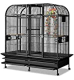 Montana Cages | Papageienvoliere XXL Los Angeles - in Antik 183 x 85cm reines Papageienkäfig Maß