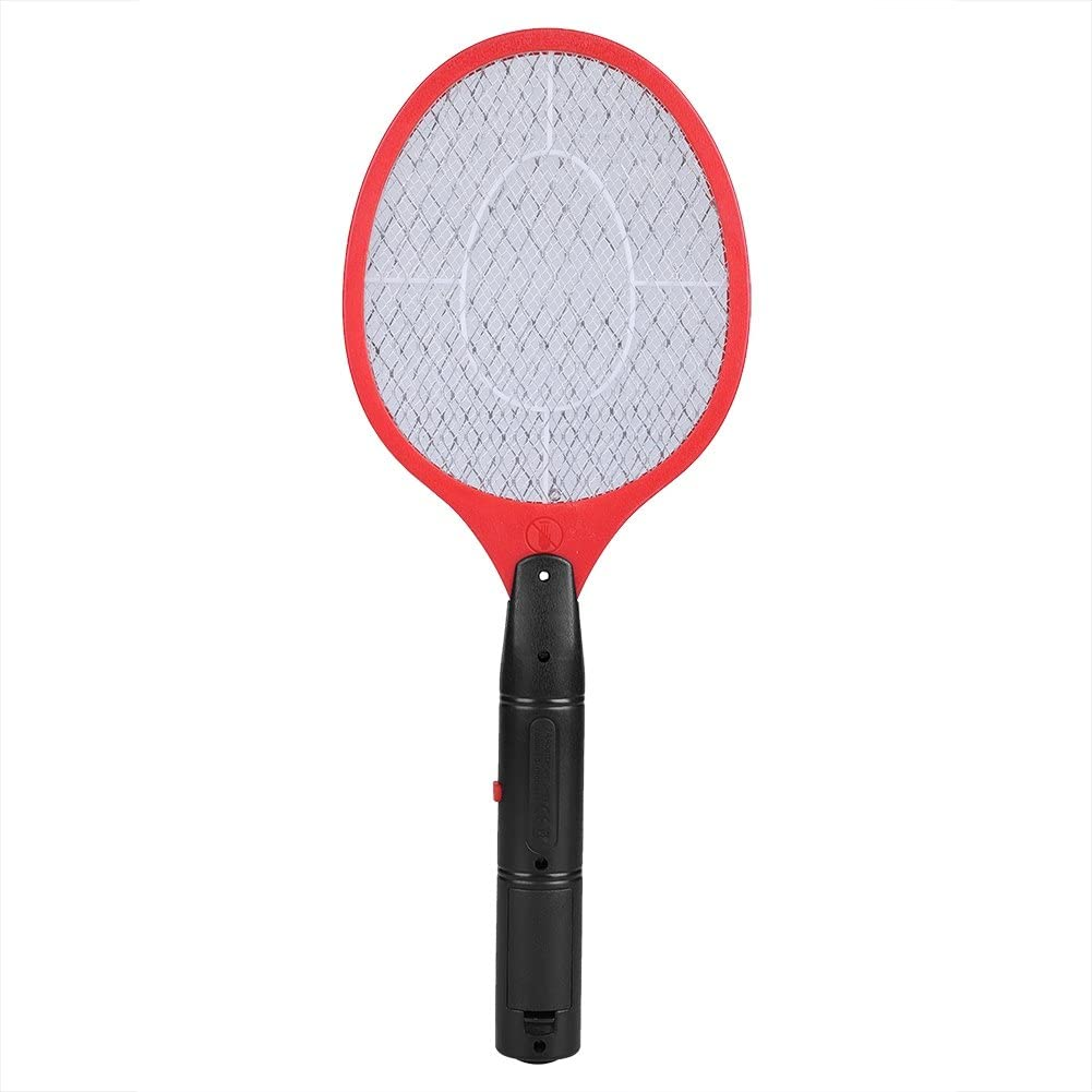 Zapper de Insectos Eléctricos Batería Inalámbrica Poder Raqueta de Zapper de Moscas Plagas Insectos Mata Mosquitos Matamoscas Moscas Matamoscas para Interiores Al Aire Libre