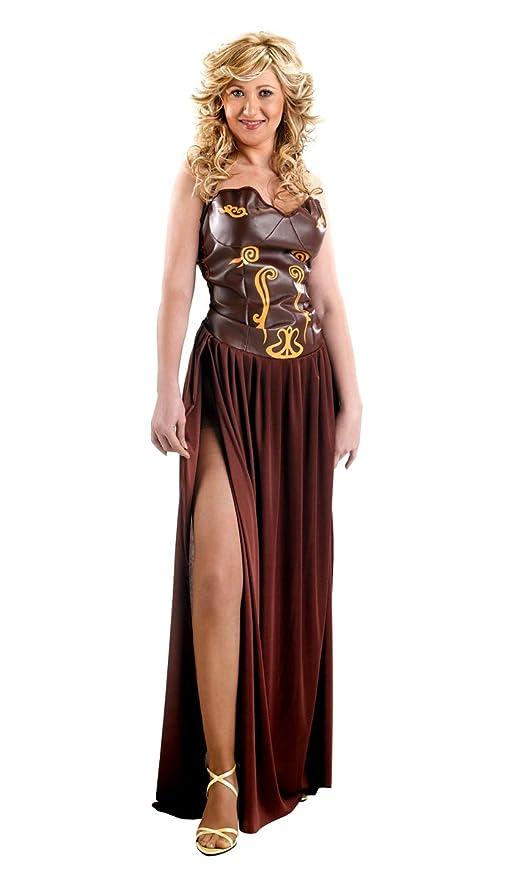Disfraz de guerrera medieval para mujer: Amazon.es: Juguetes ...