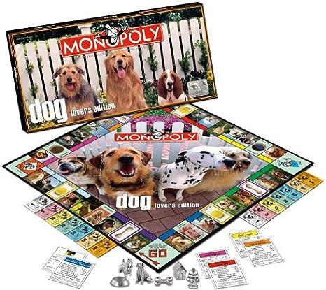 MONOPOLY: Amantes de los Perros [Reino Unido]: Amazon.es: Juguetes y juegos