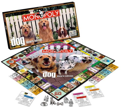 USAOPOLY Dog Lover's Monopoly - Opoly Puppy Game