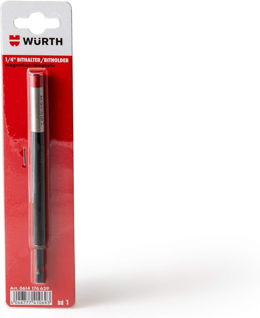 Magnetico W/ürth 614176639 Portainserti da 1//4