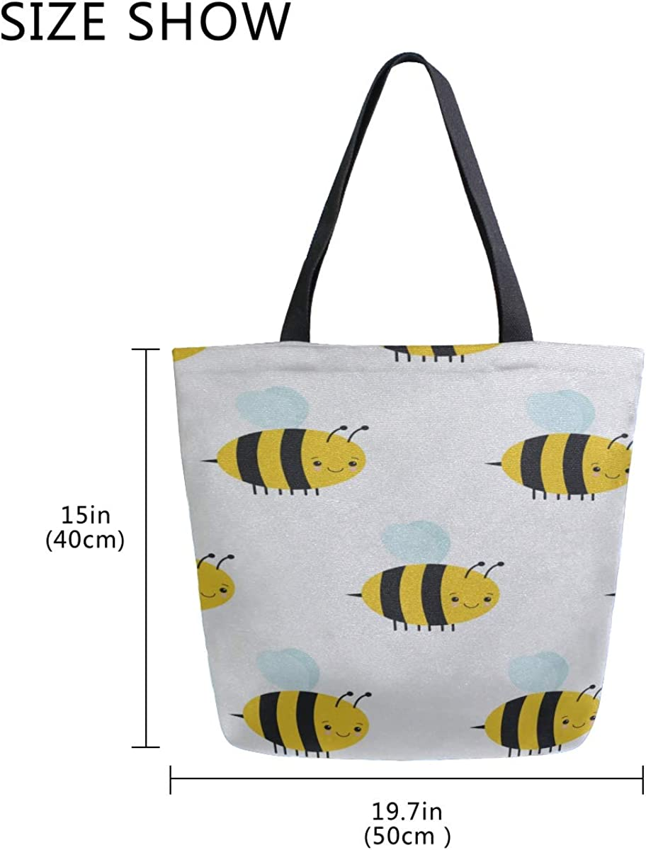 Bee Grocery Tote