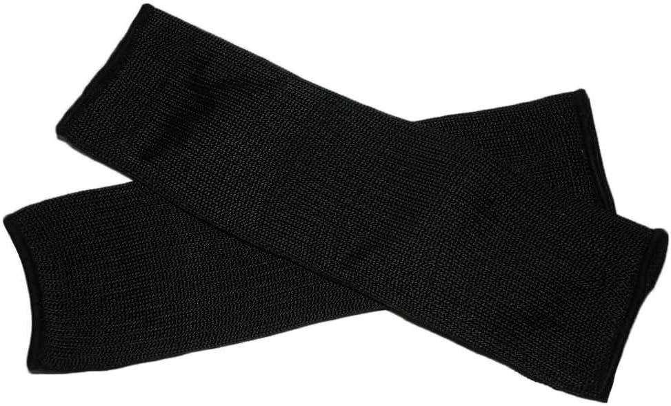 Lorsoul 1 Paar Stahldraht-Cut Proof Anti Abrasion Armband /Ärmel Armschutz Armschienen