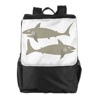 lovely Shark-design-logo-cartoon Bag,Backpack,hiking-daypacks