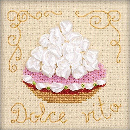 - RIOLIS Cake Basket Counted Cross Stitch Kit-4
