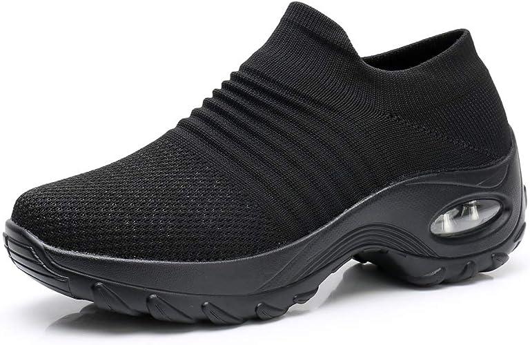 PUELLA Womens Slip On Walking Shoes