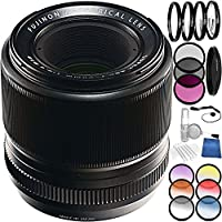 Fujifilm 60mm f/2.4 XF Macro Lens Bundle with Accessory Kit (24 Items)