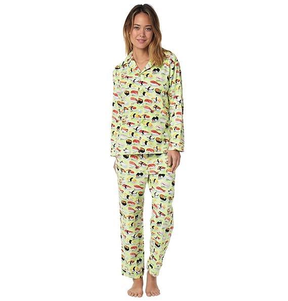 Amazon.com: El gato de pijamas Color blanco sushi de la ...