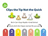 Zen Clipper Pet Nail Trimmers for Kittens, Birds