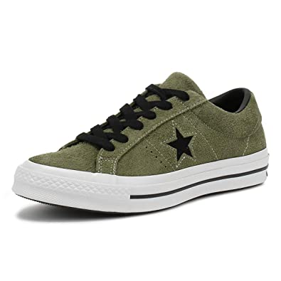 ae875b5b973dc6 Converse Unisex Adults' Lifestyle One Star Ox Leather Fitness Shoes ...