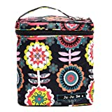 Ju-Ju-Be Classic Collection Fuel Cell Insulated Bottle and Lunch Bag, Dancing Dahlias
