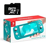 """Newest Nintendo Switch Lite Game Console, Turquoise Blue, 5.5"""" Touchscreen, Built-in Plus Control Pad, W/ 128GB Micro SD…"""