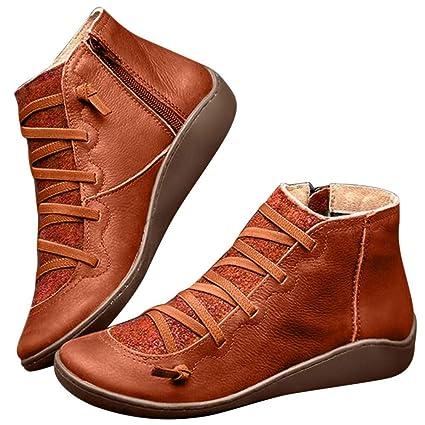 en à Bottes femme Bottines cuir lacets 2019 Chaussures 8mv0ONnw