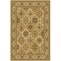 Central Oriental 8812IV24 Interlude Hazel Ivory 20-Inch by 36-Inch Area Rug