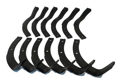 Amazon.com: Tiller Tine Set para Honda RotoTiller ...
