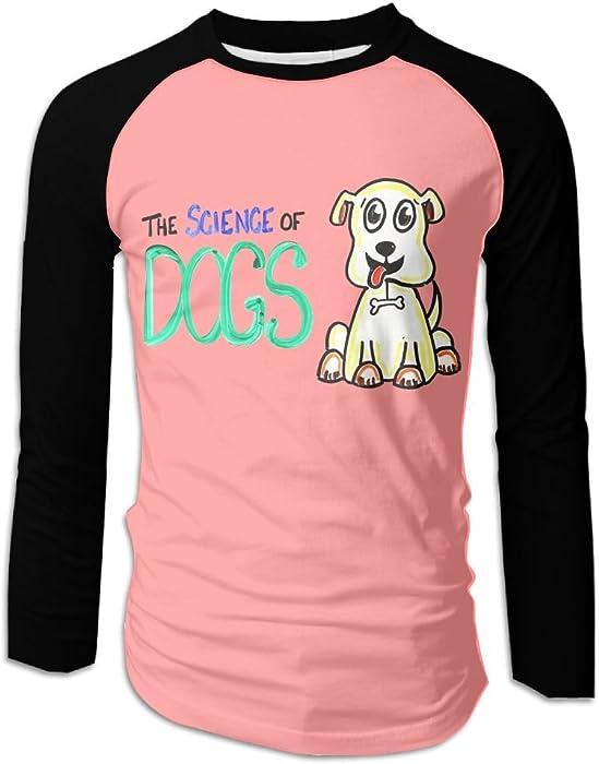 f4a408c9db83 DAHUACHUANGZHAN 3D Print A Scientific Dog Mens Long Sleeve Shirt Athletic  Baseball Shirt. at Amazon Men s Clothing store