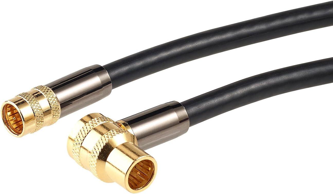 Auvisio Satelliten Kabel Hdtv Sat Antennenkabel 3 M Elektronik