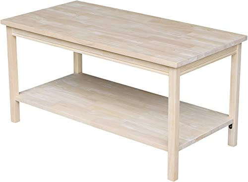 International Concepts Portman Coffee Table Unfinished
