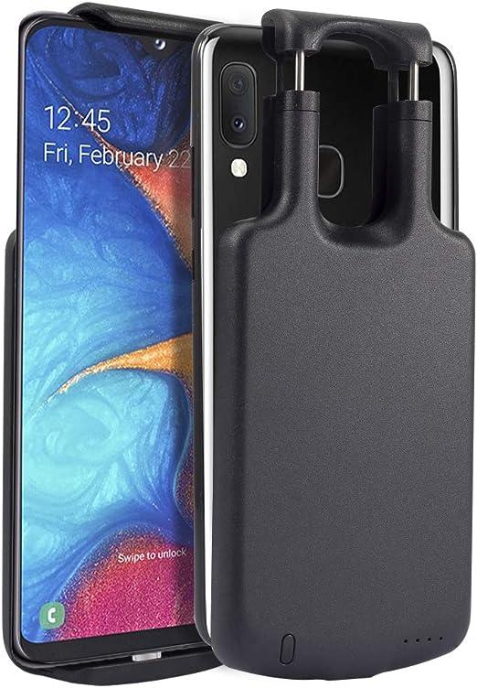 Scheam - Carcasa de batería Compatible con Samsung Galaxy A20e ...