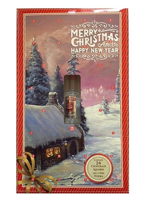 Calendario Avvento Adulti.Calendario Dell Avvento Per Adulti Con Cioccolatini E Vodka