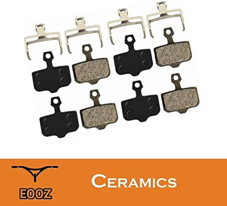 4 Pairs Bicycle Bike Disc Ceramics Brake Pads For Avid Elixir R//CR//CR-MAG//E1