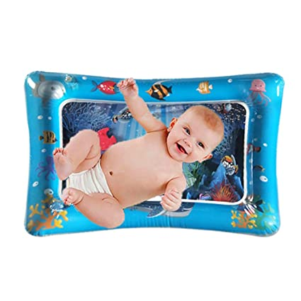 Baby Kids Water Play Mat Inflatable Thicken PVC Infant Tummy Gyms Playmats Toys