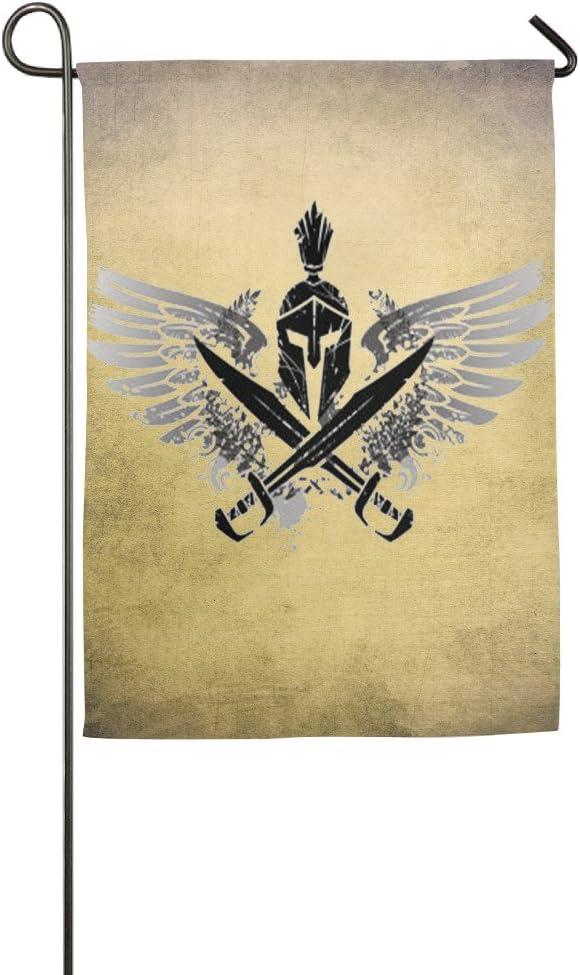 El ángel Spartan casa bandera de banderas, banderas, banderas al aire libre decorativa, Patio, Casa bandera: Amazon.es: Jardín
