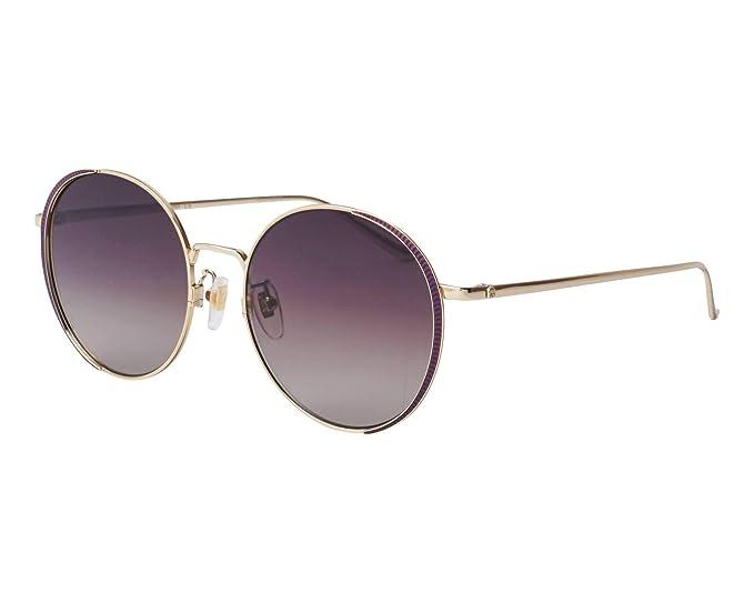 Amazon.com: Gafas de sol Gucci GG 0401 SK- 001 GOLD/BROWN ...