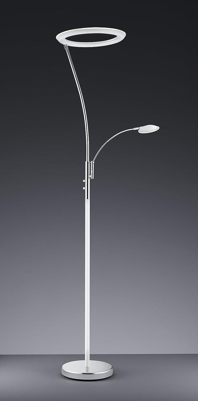 Trio Leuchten 422410206/Lampadaire LED Calgary Blanc//chrome 30 wattsW