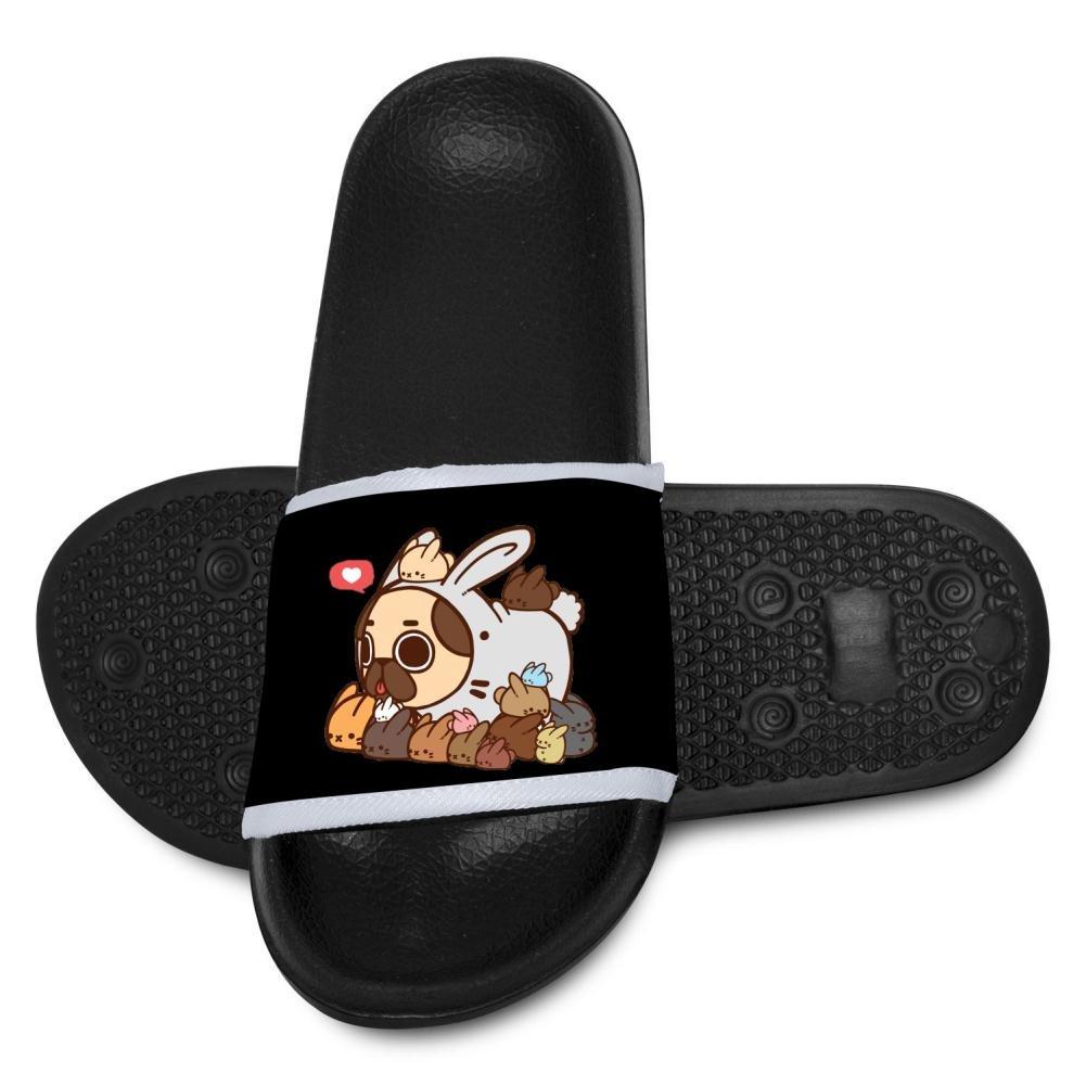 Miaoiye Fashion Rabbit Hole Pug Kids Cool Slippers Comfortable Sandal Graffiti Designs For Boys /& Girls