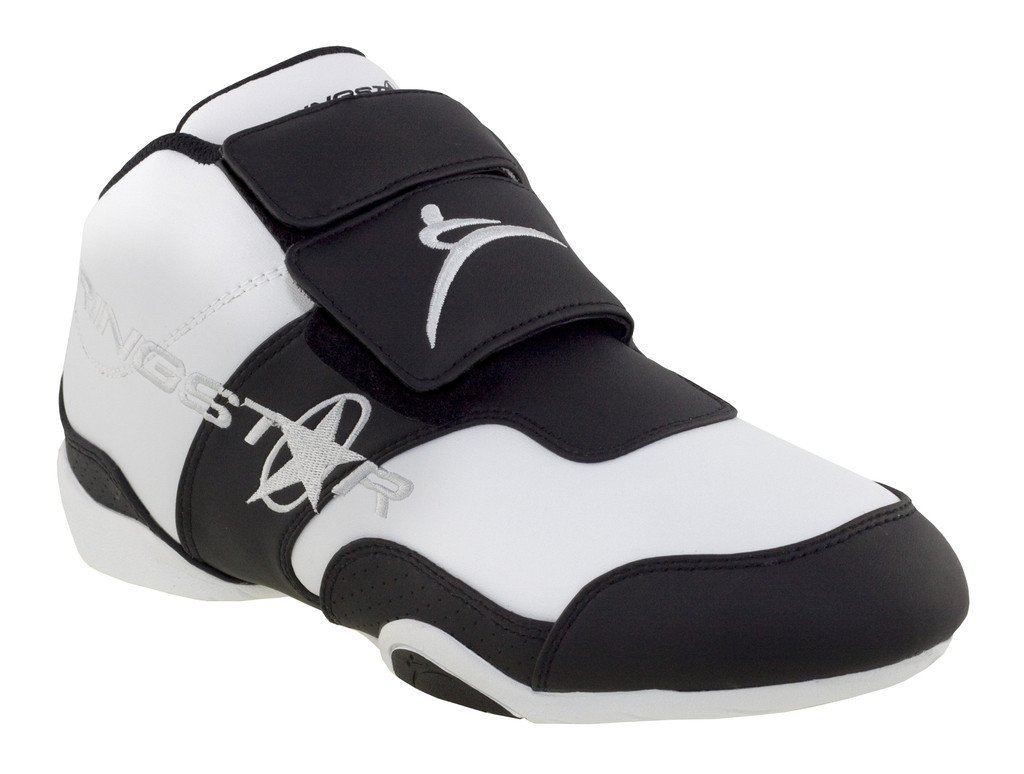 The Fight Pro Martial Arts Training Shoe, White/Black, 12