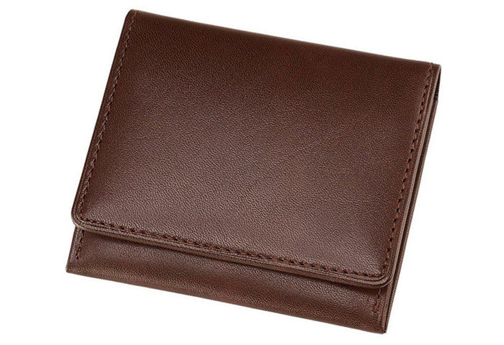 【キプリス/CYPRIS】シラサギレザー(Cirasagi Leather) 小銭入れ ササマチ 8230 (正規取扱店) B00BGX0Z1Y チョコ チョコ