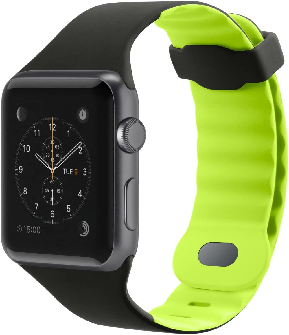 Belkin Sport Band for Apple Watch (42mm/44mm) – Apple Watch Sport Band for Apple Watch Series 4, 3, 2, 1 (Apple Watch Wristband), Citron Green