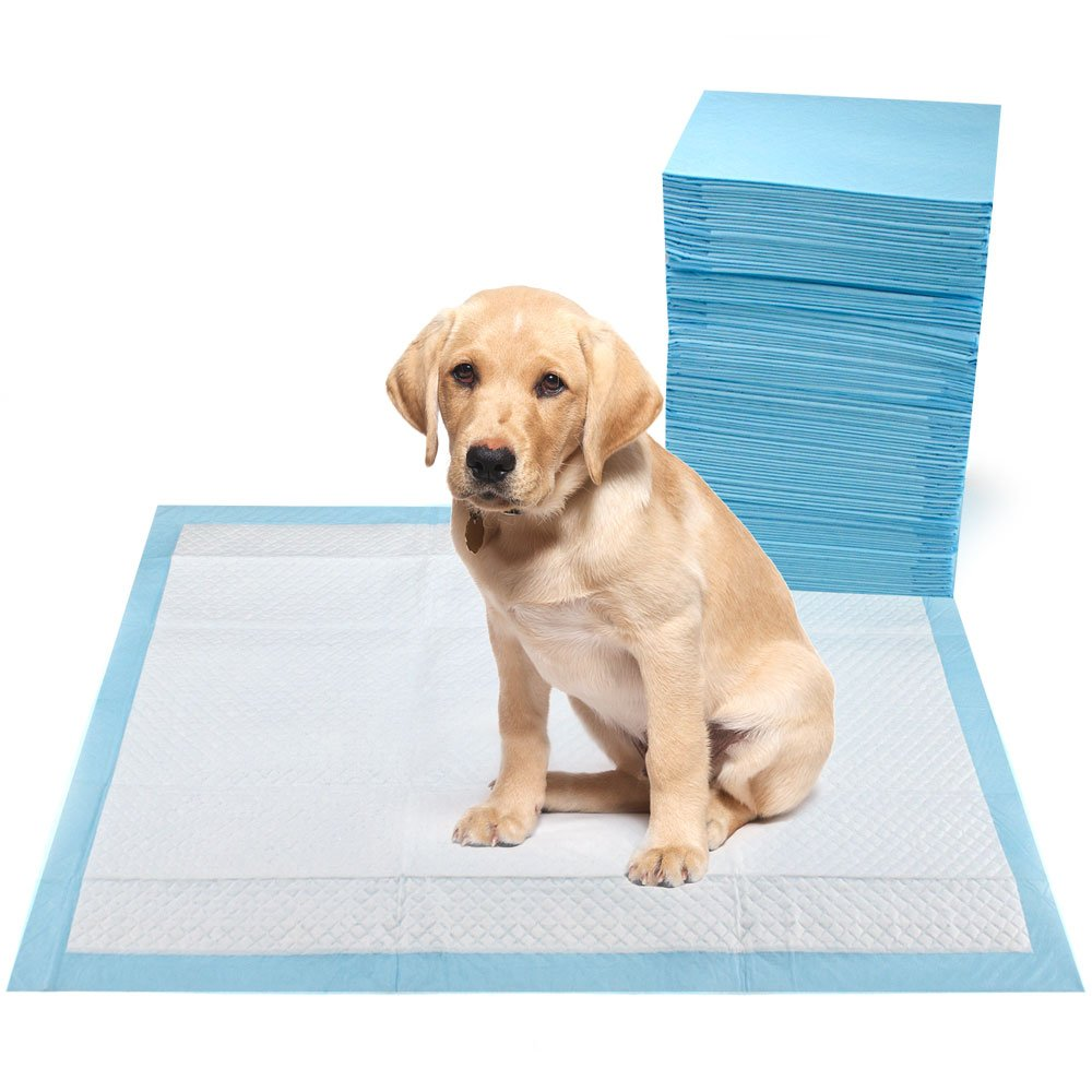Weebo Pets Super Absorbent Potty Pads with 5 Leak-Lock Layers (S - 17'' x 13'' - 200-pack)