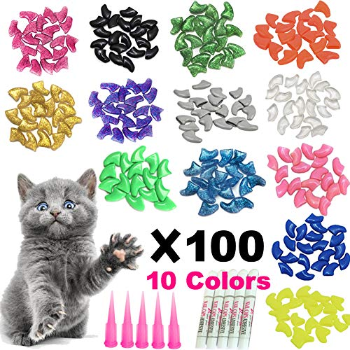 YMCCOOL 100pcs Cat Nail