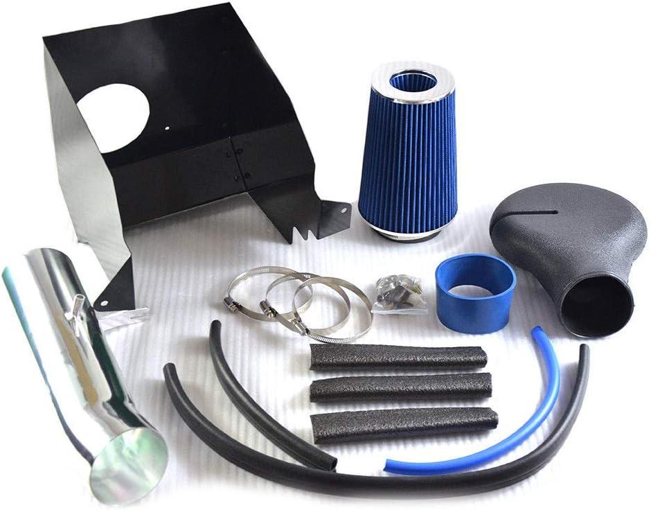 Lizudian 4 V8 5.2//5.9L Heat Shield Cold Air Intake+Filter Fit for 1994 1995 1996 1997 1998 1999 2000 2001 Dodge Ram 1500 2500 Blue