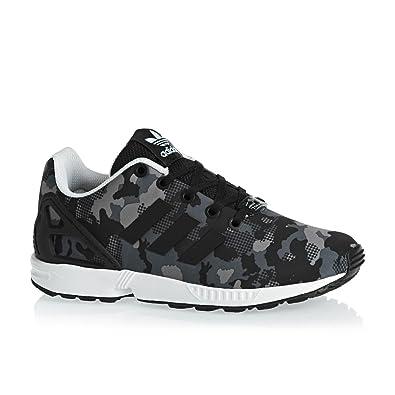 san francisco 25ffe cd29d Chaussures adidas – Zx Flux Junior noir noir blanc taille  35.5
