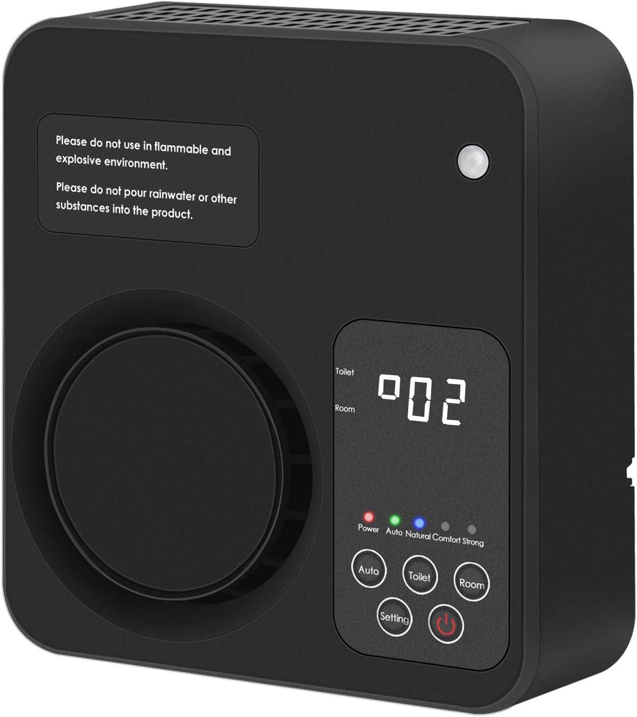 Generador de ozono Ionizador Purificador de aire Eliminador de olores domésticos Desodorante para dormitorio Sala de estar Aseo Oficina
