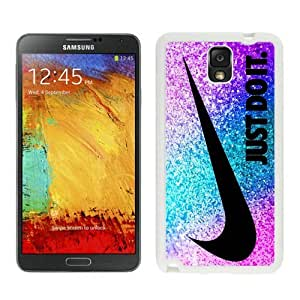 High Quality Samsung Galaxy Note 3 Case ,Cool And Fantastic Designed Case With Nlke Just do it 49 White Samsung Galaxy Note 3 Cover