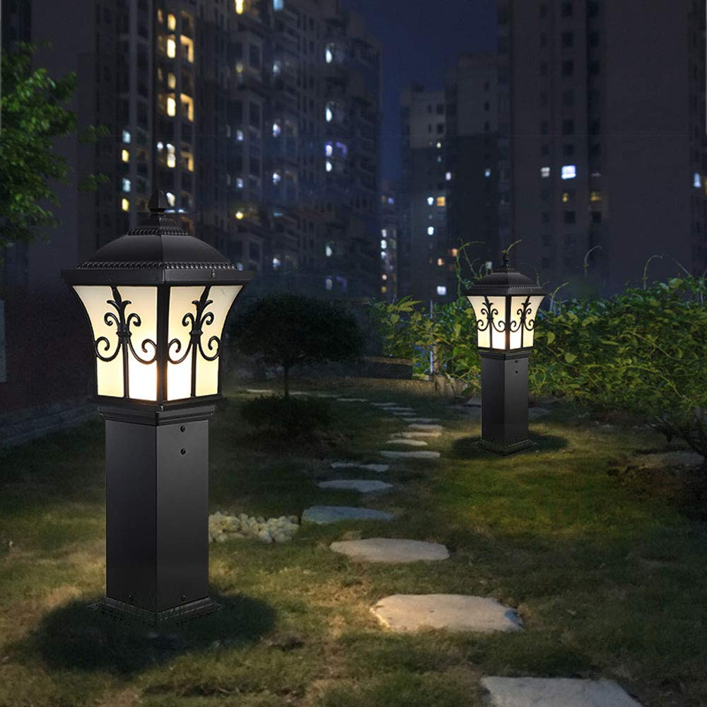 European Outdoor Waterproof Lawn Light, Garden Light/Wall Light/Garden Light/Landscape Light (Color : Black 80) by Outdoor lighting (Image #3)