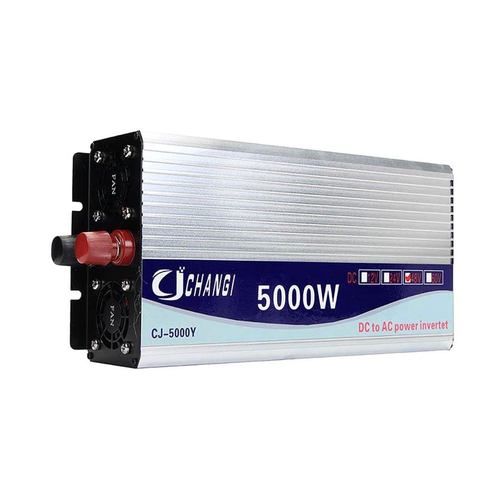 Crewell 5000/W Peak DC12/ /48/V a onda sinusoidale modificata inverter AC220/V convertitore LCD