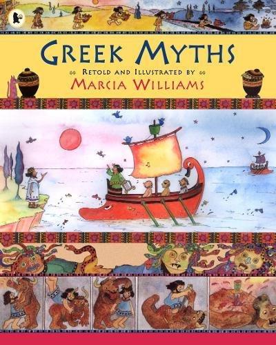 Image result for greek myths marcia williams