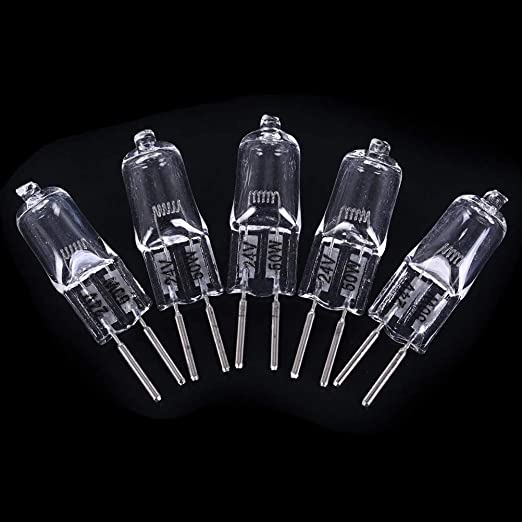 Amazon.com: Bombillas halógenas – 5 unidades de bombillas ...