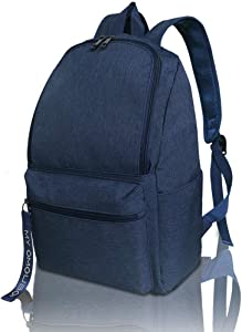 Backpack for Women, OMOUBOI 14 Inch Waterproof Laptop School Bag Travel - Blue