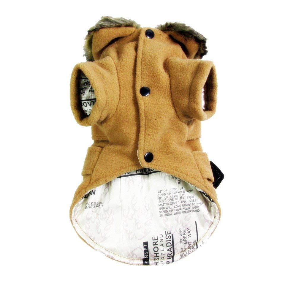 Gatto per Cane Abbigliamento Tomister Cappotto Caldo per Animale Domestico Invernale