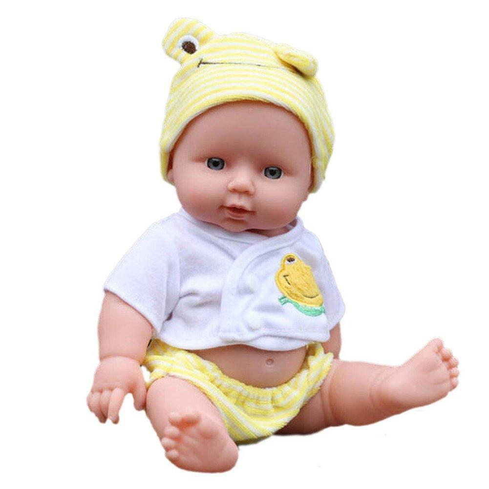 Lifelikeリアルな赤ちゃん人形Reborn Dolls人形ソフトSiliconeビニールLifelike newbornforガールズギフトdomybest   B07BS94L6R