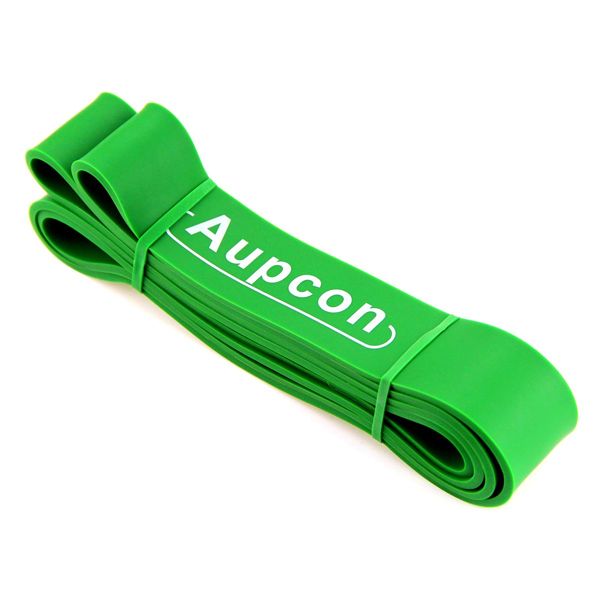 AUPCON Pull Up Assist Bands Resistance Band Exercise Bands Home Fitness, Stretching and Assistance Training Band (#4 Single Band, Green (50-125 lbs))